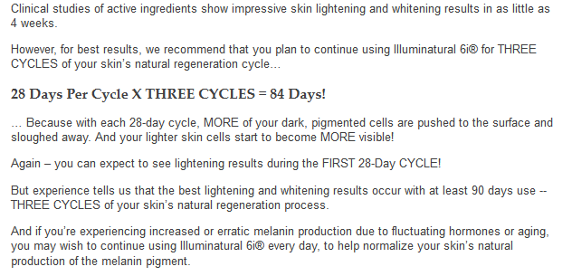 illuminatural i6 results