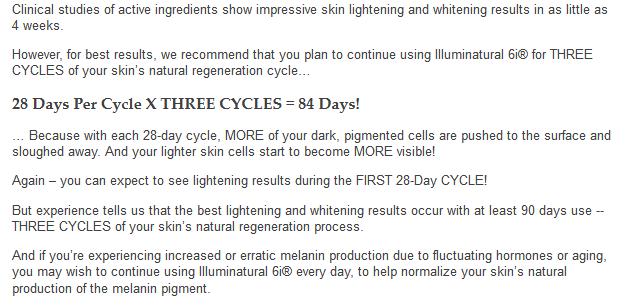 illuminatural i6 results